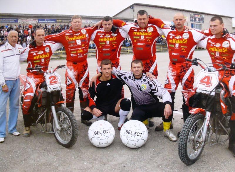 Центрально-европейская лига по мотоболу 2014 года
