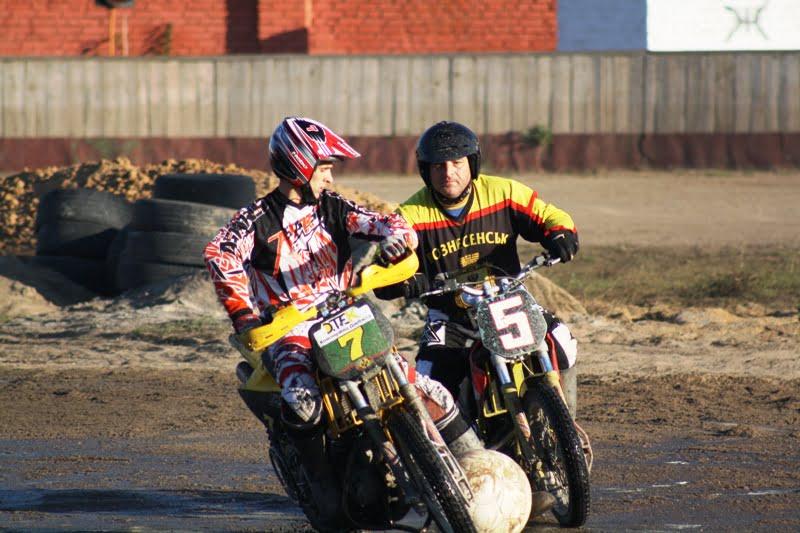 Мотобольная команда «Восход» (Вознесенск, Украина). 2014 год