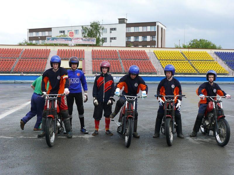 Мотобольный юношеский турнир на призы председателя центрального совета ДОСААФ.