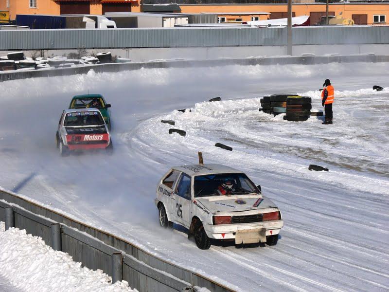 Трековые гонки на стадионе Заря